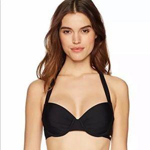 Calvin Klein Molded Underwire Swim Bikini Bra Top